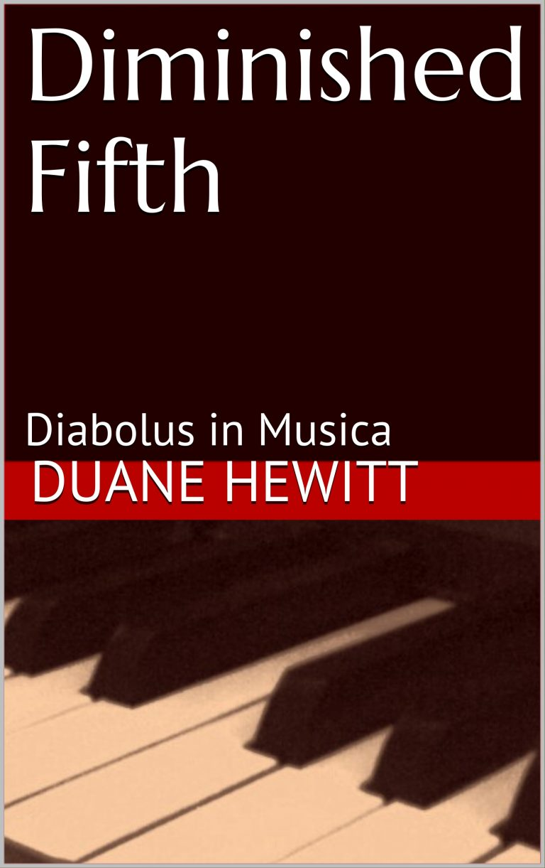 Diminished Fifth – A Novel – by Duane Hewitt
